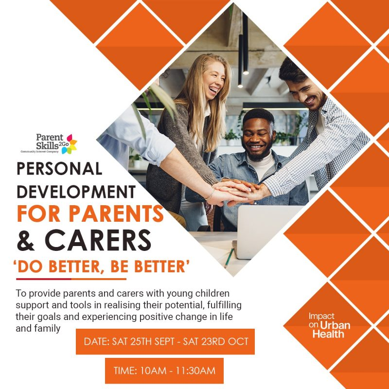 Online Personal development for Parents & carers